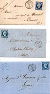 FRANCE. Lot De 3 Belles Enveloppes Anciennes. - Sellos