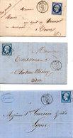 FRANCE. Lot De 3 Belles Enveloppes Anciennes. - Sammlungen (ohne Album)