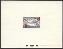 1032) N°1078 épreuve De Luxe Du Barrage Donzère-Mondragon - Epreuves De Luxe
