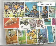 Lot 200 Timbres De Djibouti - Djibouti (1977-...)