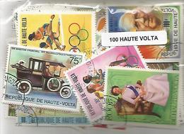 Lot 100 Timbres De Haute Volta - Haute-Volta (1958-1984)