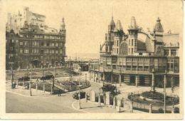 CPA OSTENDE OOSTENDE / LE KURSAAL ET LE GRAND HOTEL WELLINGTON - Oostende