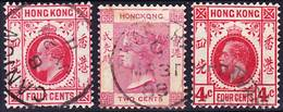 Hong Kong Lot Of Stamps Used In PO In China SG Z215, Z796, Z860 Used O - Other