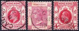 Hong Kong Lot Of Stamps Used In PO In China SG Z215, Z796, Z860 Used O - Otros
