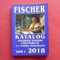 Catalogue Of Polish Stamps FISCHER 2018 - Poland --- Briefmarken Katalog Polen Pologne --- Pl Nskl - Pologne