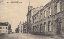 """1920  Arlon  """" Ecole Communale Des Garçons """" - Arlon"""