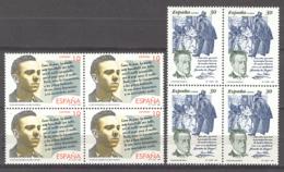 Spain 1995 -Literatura Ed 3356-57 (**) Bloque - 1991-00 Nuevos & Fijasellos