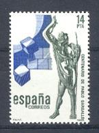 Spain. 1982 Pablo Gargallo Ed 2683 (**) Mi 2569 - 1931-Heute: 2. Rep. - ... Juan Carlos I