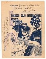 GUERRA CIVIL 1937 RARA TARJETA  SRI  EJERCITO DEL NORTE ELA 134 - 1931-Hoy: 2ª República - ... Juan Carlos I