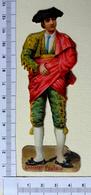 CHROMO DECOUPI.......CHOCOLAT POULAIN.......H  12 Cm....CORRIDA ....TOREADOR - Victorian Die-cuts