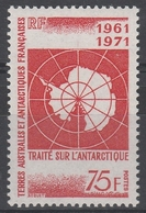N° 39* 75F. TRAITE S/ L'ANTARCTIQUE - Neufs