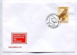 DIA DEL INGENIERO AGRONOMO. CORREOS DEL URUGUAY 1985 MATASELLO ESPECIAL SPC ENVELOPE -LILHU - Agricultura