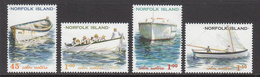 2001 Norfolk Island  Boats   Complete Set Of 4  MNH - Norfolkinsel