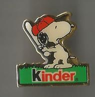 Pin's Kinder (Snoopy) - BD