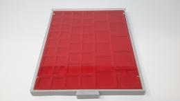 LINDNER Münzbox 2145 Standard 45 Quadratische Fächer MIX, Gebraucht (Z830) - Zubehör
