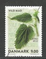 Denemarken, Yv 1910  Jaar 2018, Flora, Gestempeld - Usado