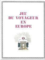 Jeu Du Voyageur En Europe (Jeu De L'oie)  (publicité Médicale  Lab. Clin-Comar ) - Non Classés