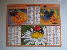 2012 ALMANACH DU FACTEUR Calendrier Des Postes HAUTE-MARNE 52 - Groot Formaat: 2001-...