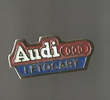 Pin's Audi Letocart - Audi