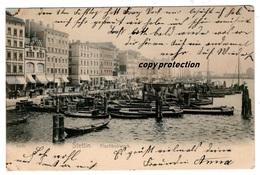 Stettin, Fischbollwerk, Alte Postkarte 1909 - Polen