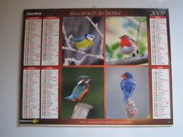 2009 ALMANACH DU FACTEUR Calendrier Des Postes HAUTE-MARNE 52 - Calendars