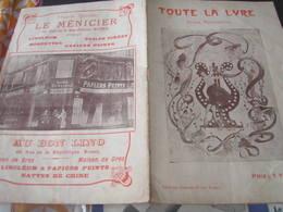 ROUEN FOLIES BERGERES SAISON 1921 / GARE CATHEDRALE CARILLON /THEATRE DES ARTS - Programmi