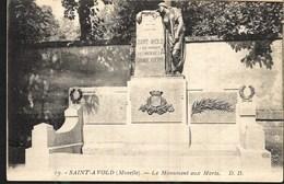 Saint Avold Le Monument Aux Morts - Saint-Avold