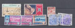 MUSCAT & OMAN - SELECTION OF USED STAMPS , SG £16 - Oman