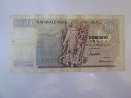 Belgium/Belgique 100 Francs/Frank 1966 Banknote - [ 2] 1831-... : Regno Del Belgio