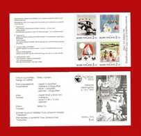 """(Cl.3)  FINLANDIA - 1992 - """"NORDIA '93"""" - Esposizione Filatelica Internazionale A Helsinki - (Yv C 1156  Neuf ** - Libretti"""