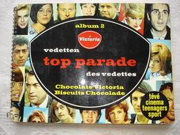 Album Victoria Vedetten Parade Des Vedettes Nr 2 Volledig - Albums & Catalogues