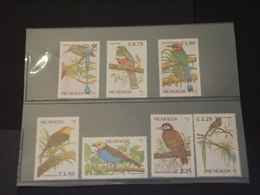 NICARAGUA - 1991 UCCELLI 7 VALORI - NUOVI(++) - Nicaragua