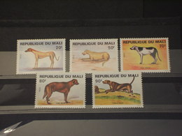 MALI - 1979 CANI 5 VALORI - NUOVI(++) - Mali (1959-...)