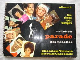 Album Victoria Vedetten Parade Des Vedettes Nr 3 Onvolledig 7 Nrs Ontbreken - Albums & Catalogues