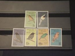 MICRONESIA - 1988 UCCELLI 3 + 3 VALORI - NUOVI(++) - Micronesia