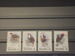 MALAYSIA - 1983  UCCELLI  4 VALORI - NUOVI(++) - Malesia (1964-...)
