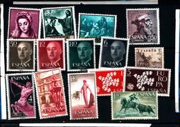 6495B) Lotto Di Francobolli Della Spagna-MNH** - Spagna