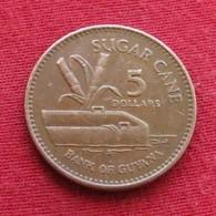 Guyana 5 Dollars 1996 KM# 51  Guiana - Guyana