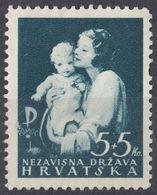 CROAZIA - 1942 - Yvert 61 Nuovo Senza Gomma. - Croacia