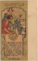 Onoranze A Volta Nel Centenario Della Pilla, Como 1899. Formato Piccolo Non Viaggiata. Riproduzione - Personaggi Storici
