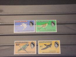 MAURITIUS - 1967 UCCELLI 4 VALORI - NUOVI(++) - Mauritius (1968-...)