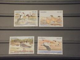 NAMIBIA 1999 UCCELLI 4 VALORI - NUOVI(++) - Namibia (1990- ...)