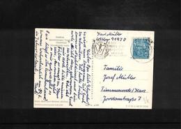 Germany / Deutschland 1959 Gymnastics - Turnfest Leipzig Interesting Cover - Gymnastik