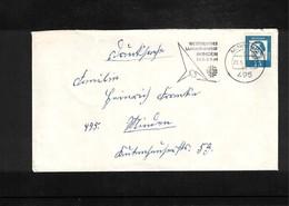 Germany / Deutschland 1964 Gymnastics - Turnfest Minden  Interesting Cover - Gymnastik