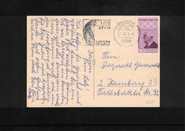 Germany / Deutschland 1964 Gymnastics - 125 Jahre Turnverein Wertheim  Interesting Cover - Gymnastik