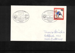 Germany / Deutschland 1977 Gymnastics - Turnfest Heidenheim Interesting Cover - Gymnastik