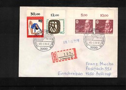 Germany / Deutschland 1978 Gymnastics - Turnfest Hannover Interesting Cover - Gymnastik