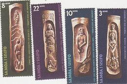 Samoa SG 369-372 1971 Legends ,mint Never Hinged - Samoa