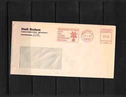 Germany / Deutschland 1989 Gymnastics - Turnfest Dortmund/Bochum Interesting Cover - Gymnastik