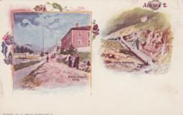Sitka Alaska, Main Street Scene, Gold Washing Mining Technique, C1890s Vintage Postcard - Sitka